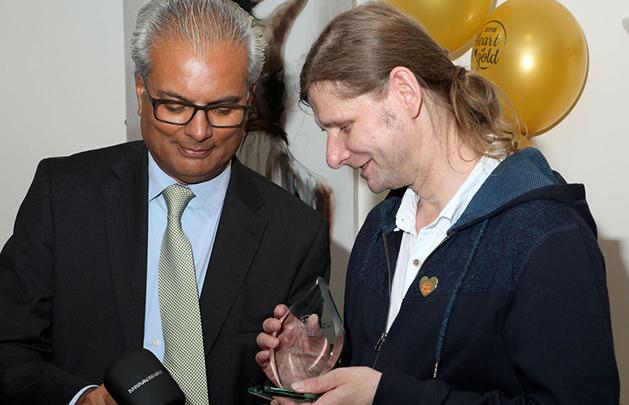 Local Carer Wins 'Heart of Gold' Award