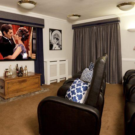 Ashbrook Court Care Home Cinema Room