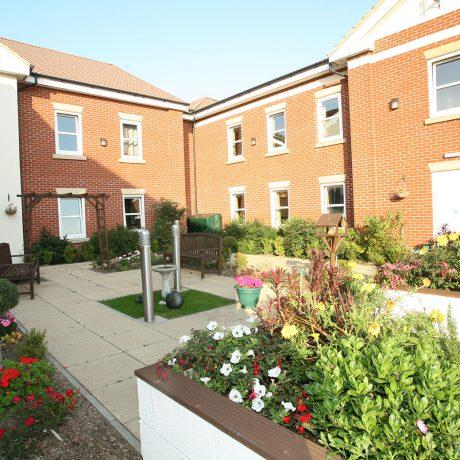 Ashbrook Court Care Home Garden